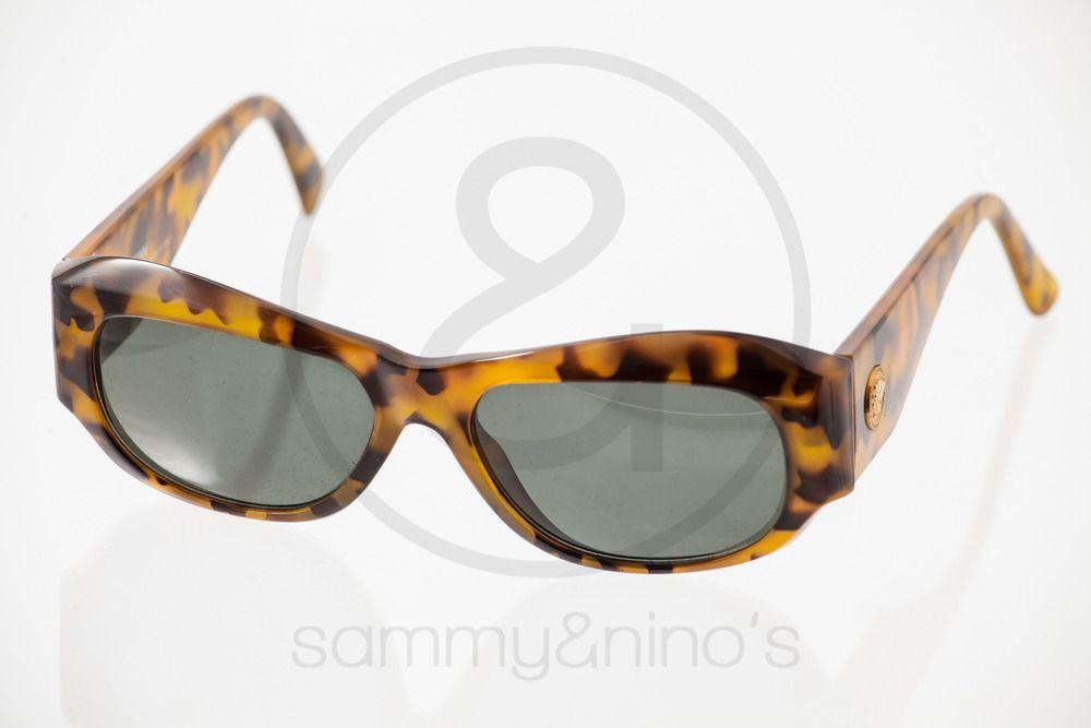 b933e91f7bcb6 Image of Gianni Versace Mod.375 tortoise    Vintage Sunglasses ...