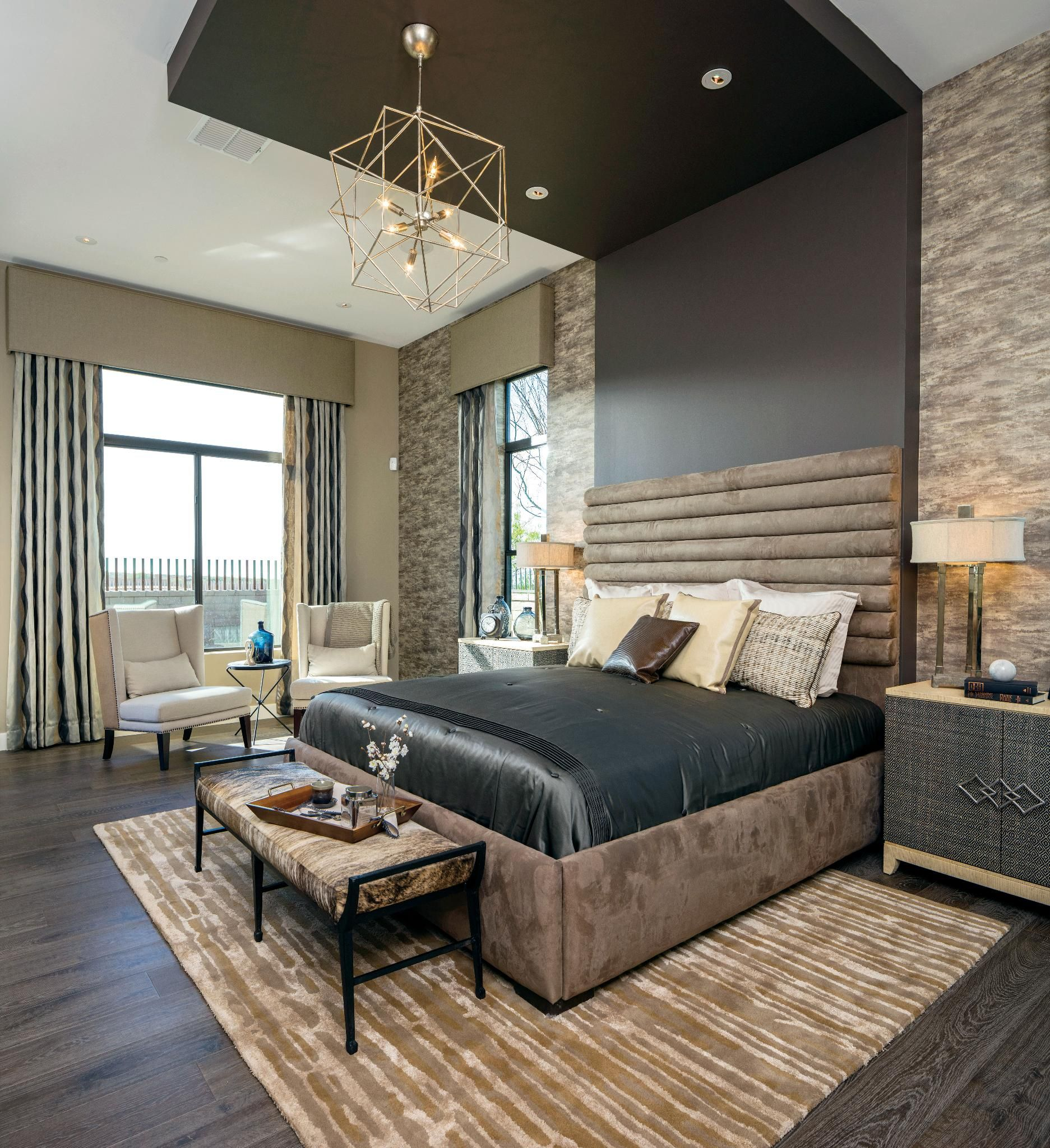 Masculine Master Bedroom: Toll Brothers At Los Saguaros