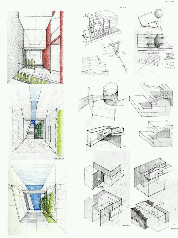 Architecture modulation concept sketches archi diagrams for Types of architectural design concepts