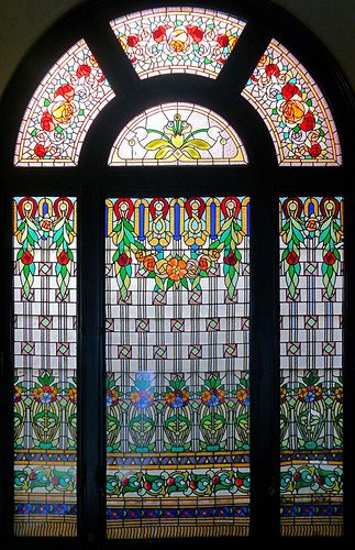 Barcelona Passeig Mare De Déu Del Coll 041 N Faux Stained Glass Stained Glass Art Stained Glass Windows