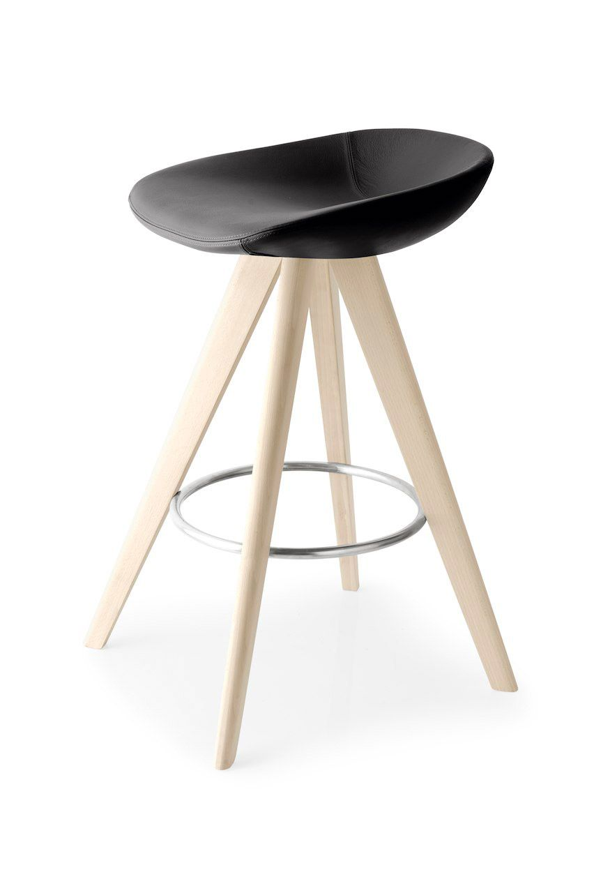 Calligaris palm w bar stool two heights available and comes with a variety of seat colours and base finishes