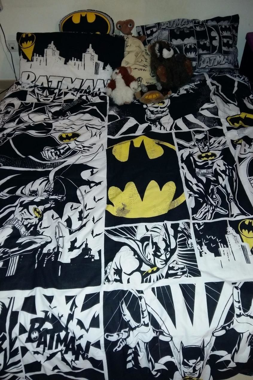 Black bed sheets pattern - Primark Batman Bedding Duvet Sheets Bed Sheet