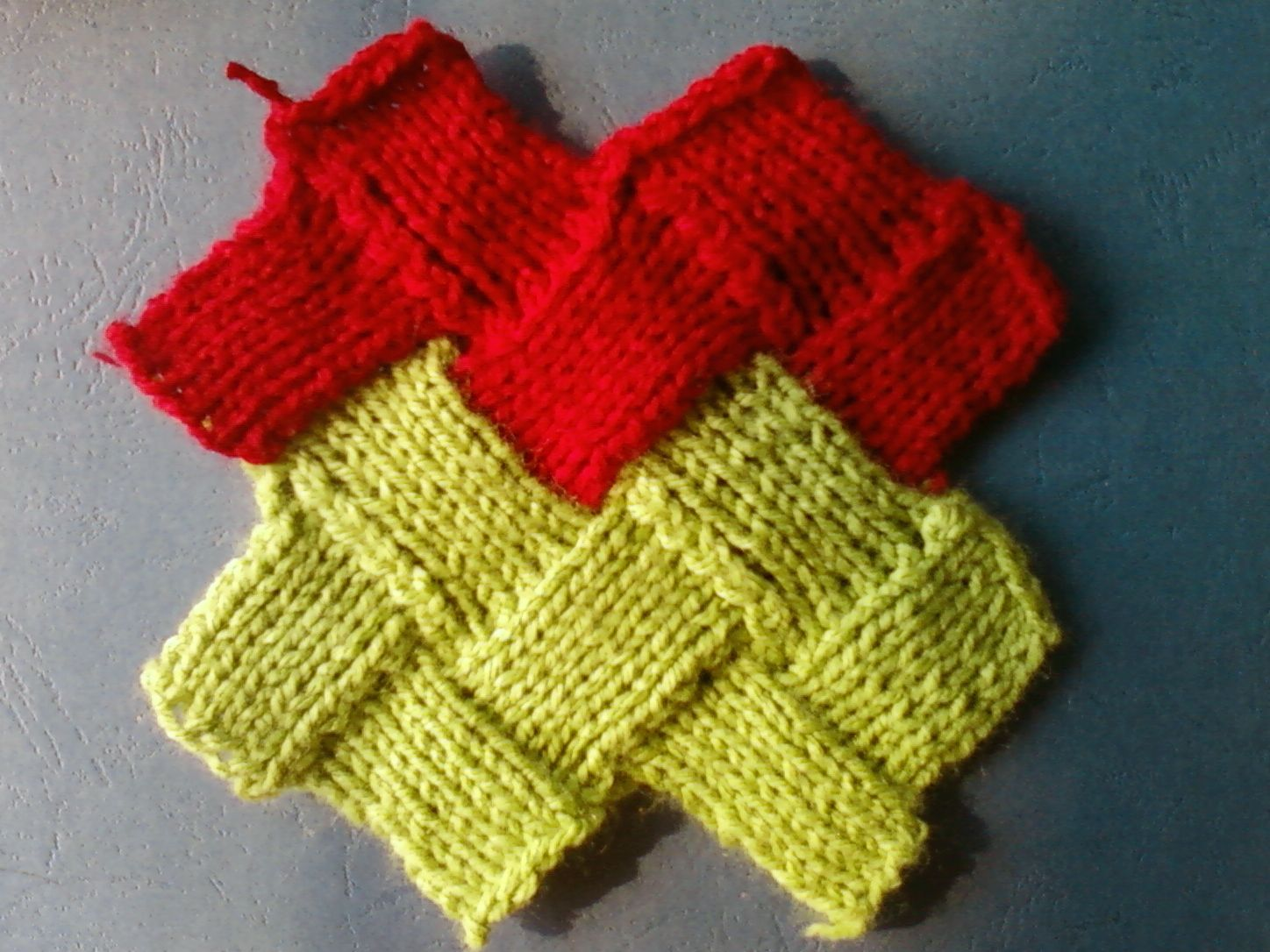 The following is the detailed instructions for try Zig zag entrelac ...