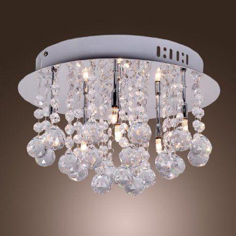 Amazon Com Lightinthebox Stainless Steel 6 Light Chandelier With