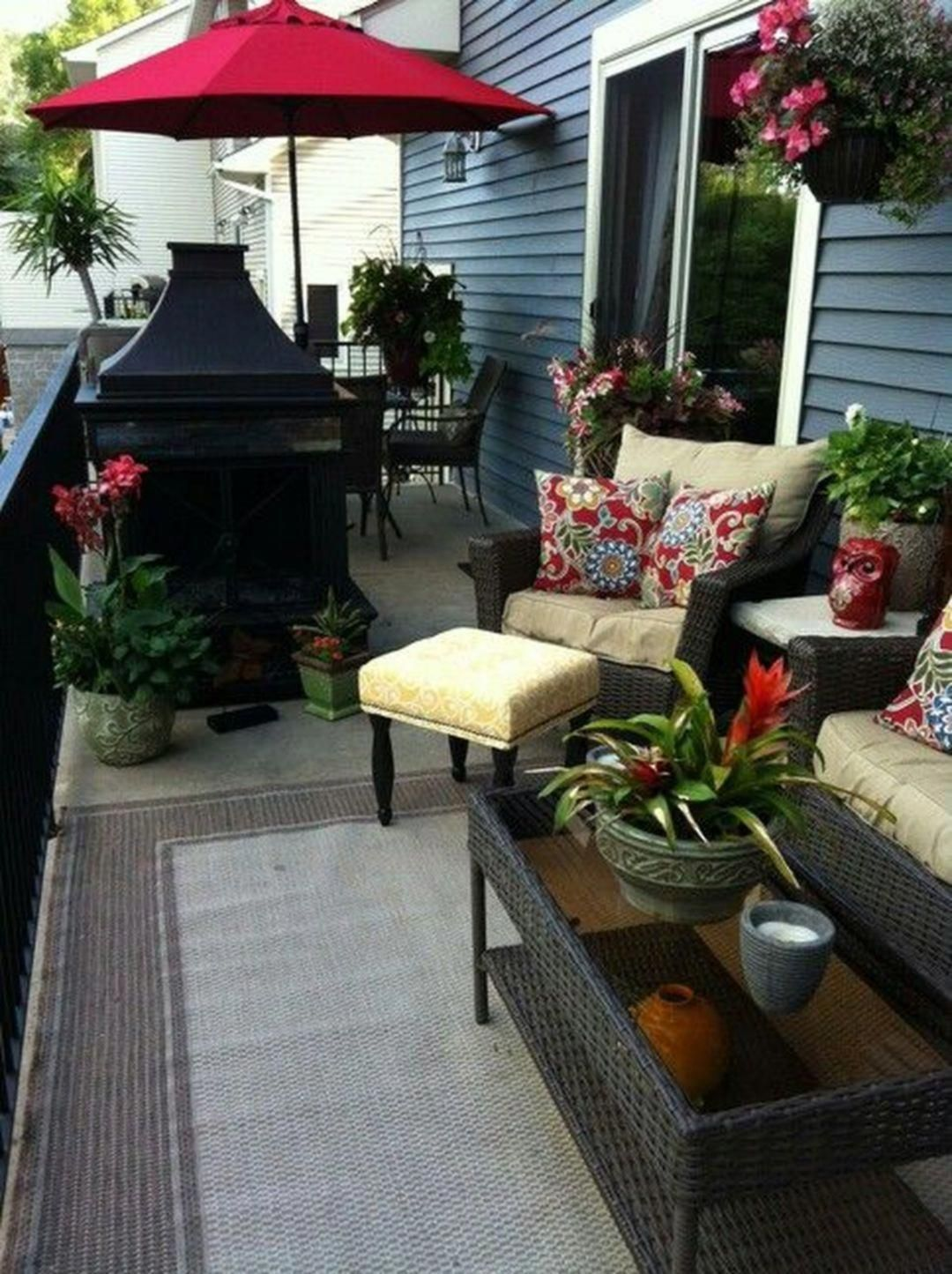 Inspiring Small Deck Decorating Ideas On A Budget For 2019