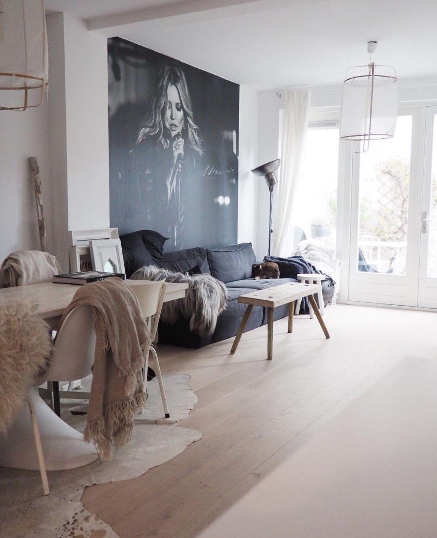 Kussens, plaids, grote foto - Woonkamer | Pinterest - Plaid, Kussens ...