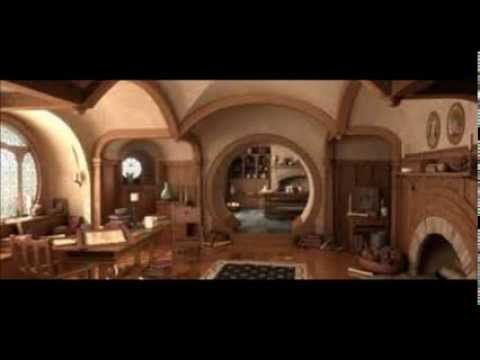 Hobbit Interior Design hobbit house bag end interior design video | hobbit | pinterest