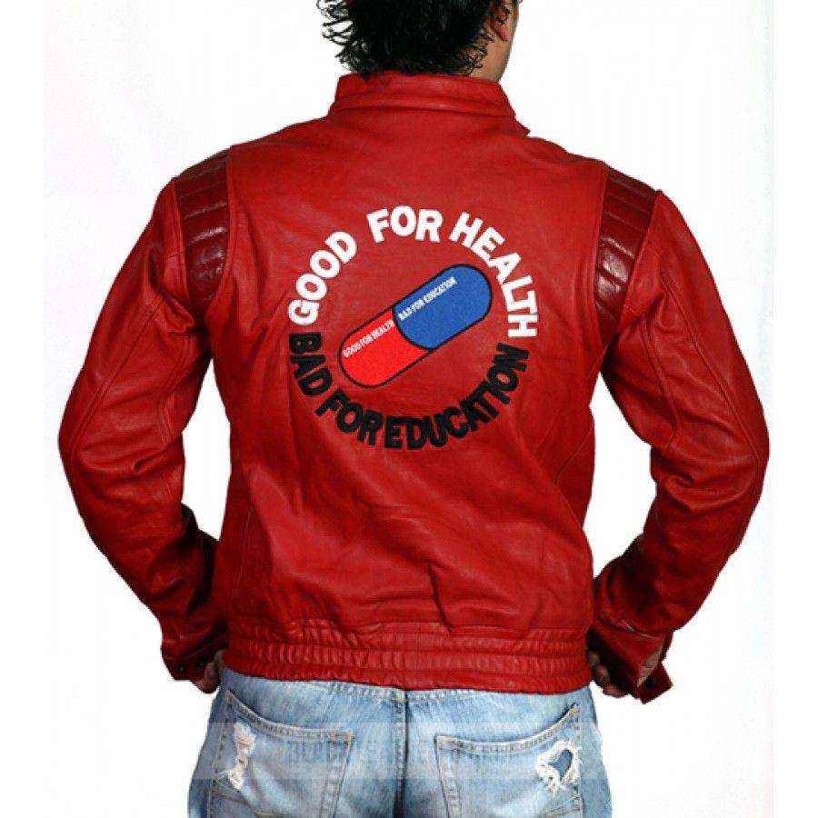 Akira Kaneda Jacket Pill Leather Motorcycle Jacket Kaneda Jacket Stylish Leather Jacket Biker Jacket Men [ 900 x 900 Pixel ]