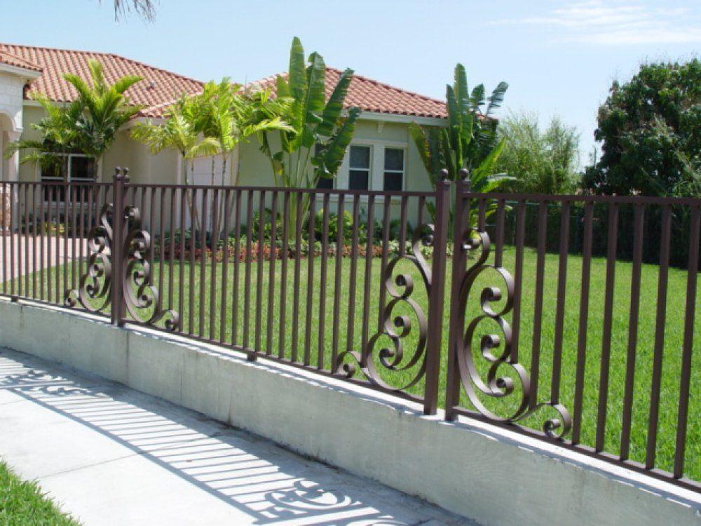 metal fence designs. Plain \u0026 Corner Design. Concrete FenceSteel Metal Fence Designs E