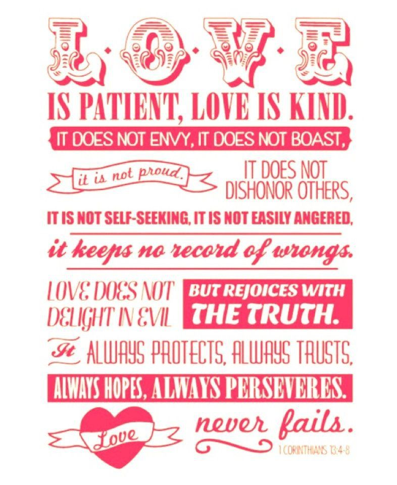 Lyric love is very patient very kind lyrics : The Priority and Protection of Love – 1 Peter 4:7-11 | Corinthians ...
