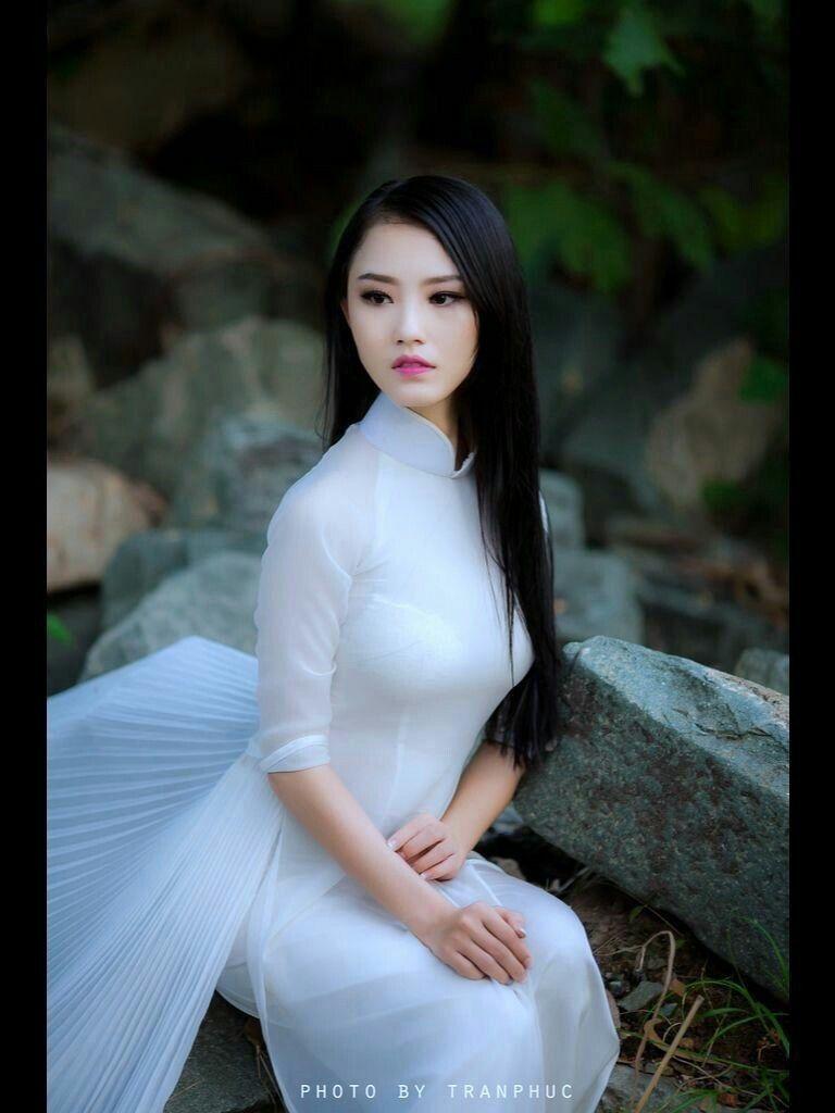 Schöne Asiatin