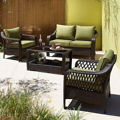 Sumatra 4 Piece Deluxe Sofa Set