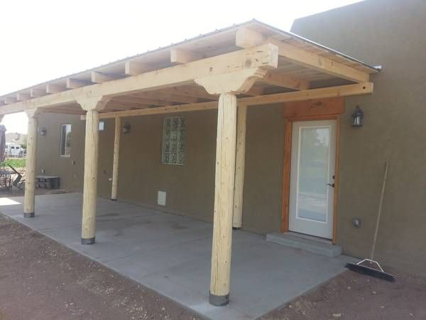 Question About Construction Of An Attached Porch Roof To My House .