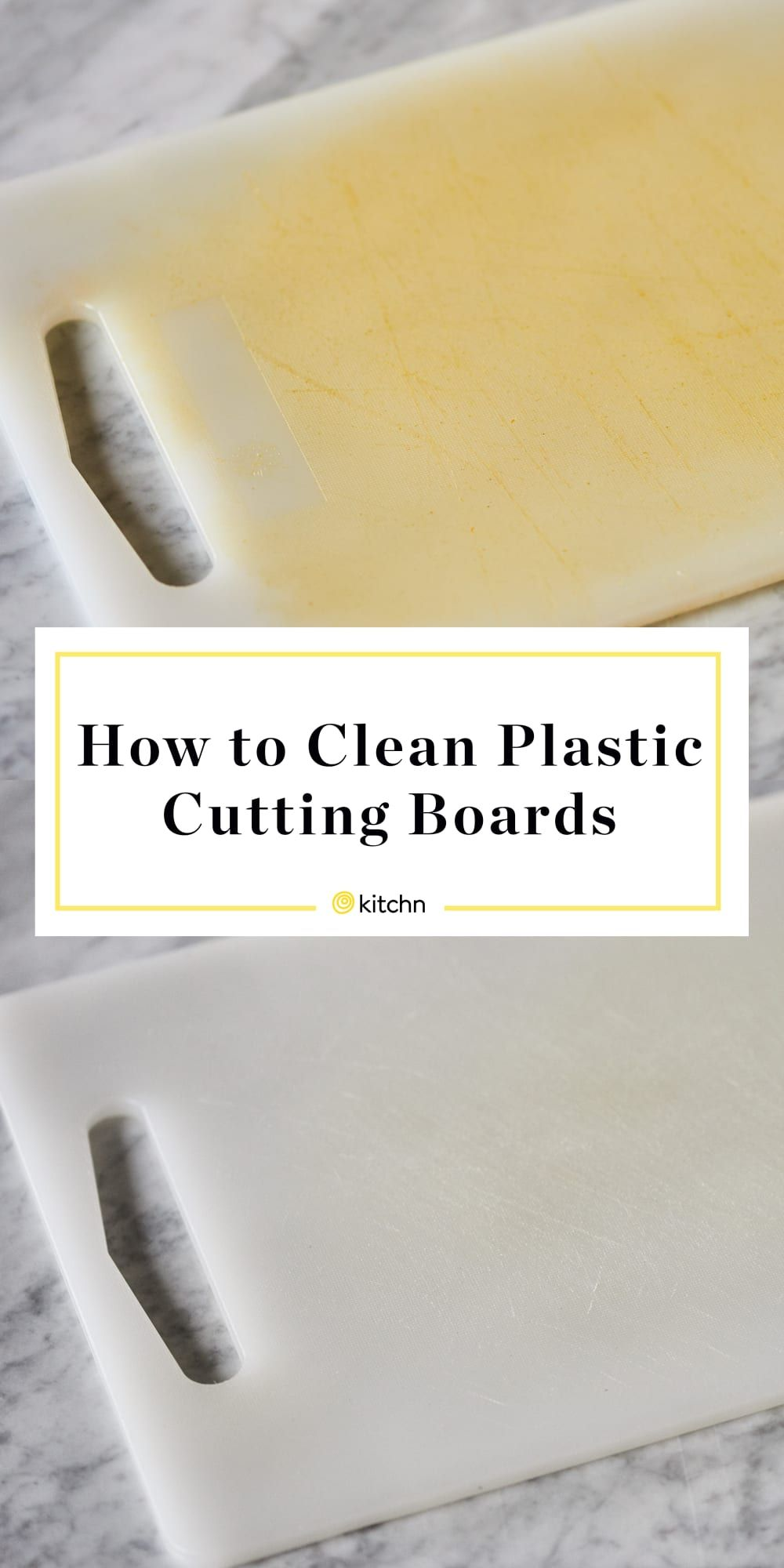 The Best Ways to Clean and Disinfect Plastic Cutting Boards (Without Bleach) #cookingandhouseholdhints