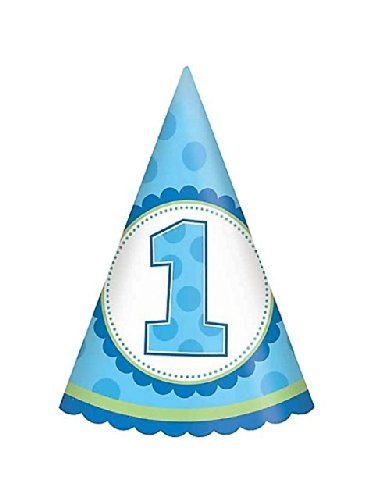 1st Birthday Boy Cone Hats Party Acce 1st Boy Birthday Party Hats Birthday Party Supplies