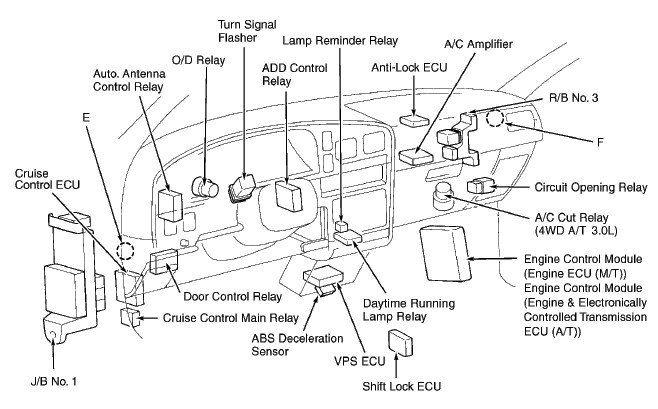 Circuit diagram hilux