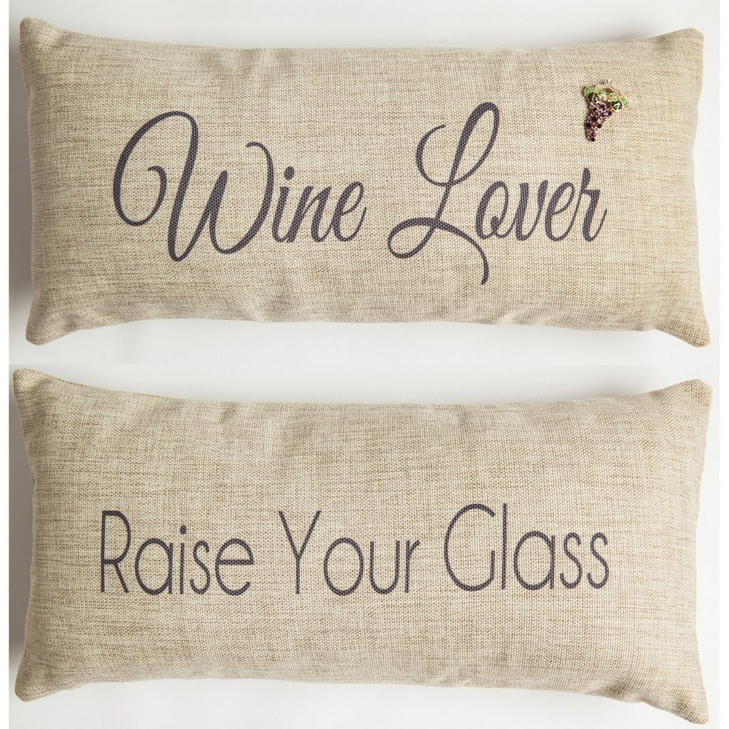 wine themed gifts and doublesided pillows signs products