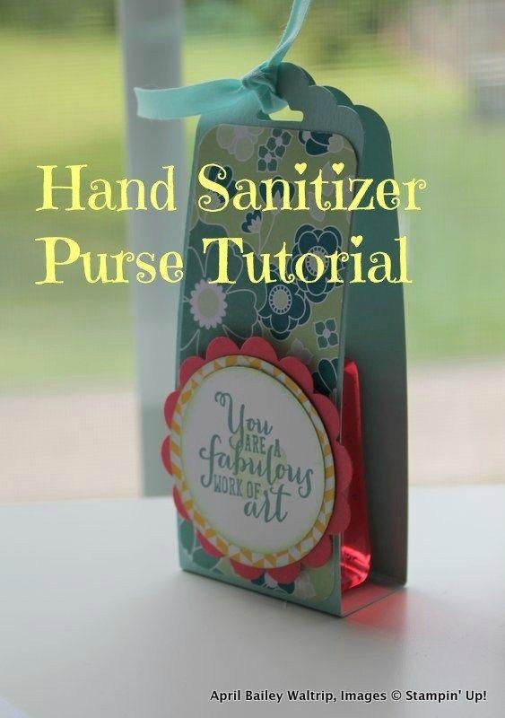 12 Days of Back to School Crafts: Hand Sanitizer Purse -   18 school crafts show ideas