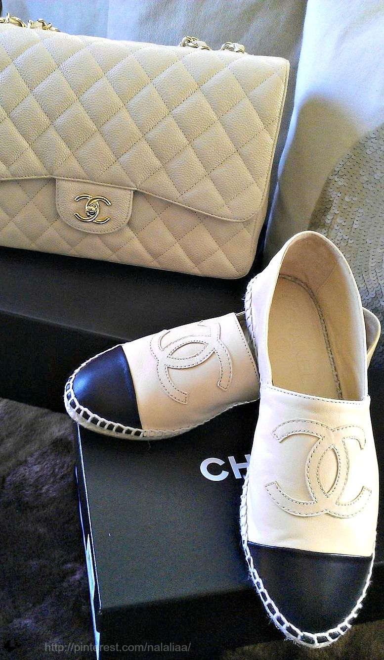 17fe4d32127 Chanel Alpargatas. These are inspired from the traditional Alpargatas worn  in the Andes. Plaited white cotton string toe piece heel-strap with a sole  of ...