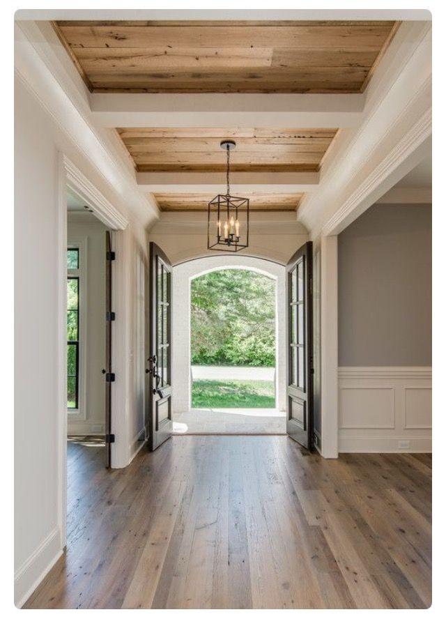 emmaceski♡ Home Decor Pinterest Casas, Entrada y Pisos - como decorar un techo de lamina