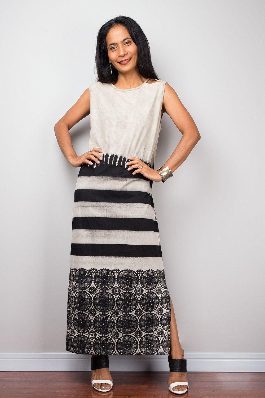 7633734b0e03 Tie dye dress, Bleached sleeveless Tube Maxi Dress, Summer Boho ...