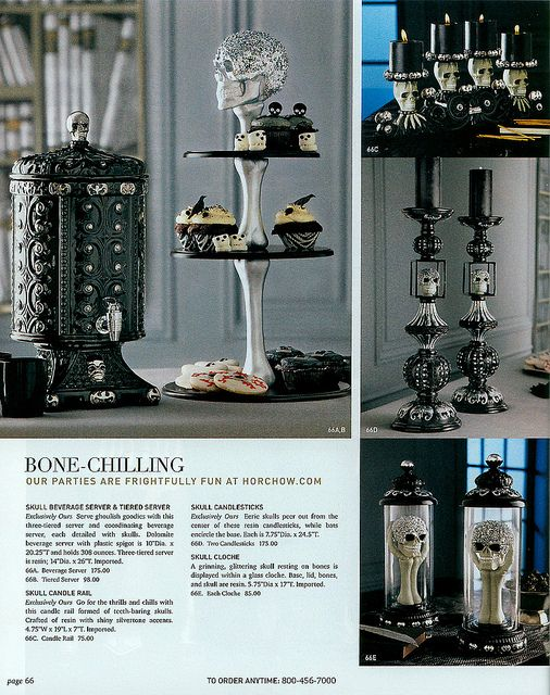 The beverage server from Horchow catalog I didn\u0027t see on the web - halloween catalog