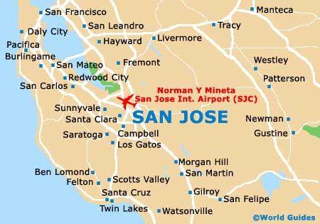 ENTRENAMIENTO MARZO SAN JOSE Vacaciones Pinterest - San jose california map