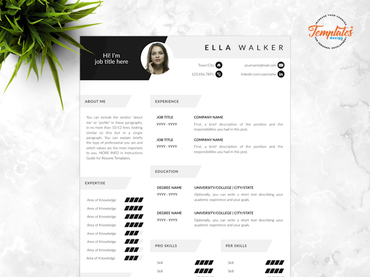 70 Creative & Beautiful Resume Examples to Get Inspired - Beautiful resume, Resume template word, Resume examples, Resume design creative, Infographic resume, Resume design - In this collection, we have handpicked 70 beautiful, fantastic, creative resume designs that you can use to get inspired