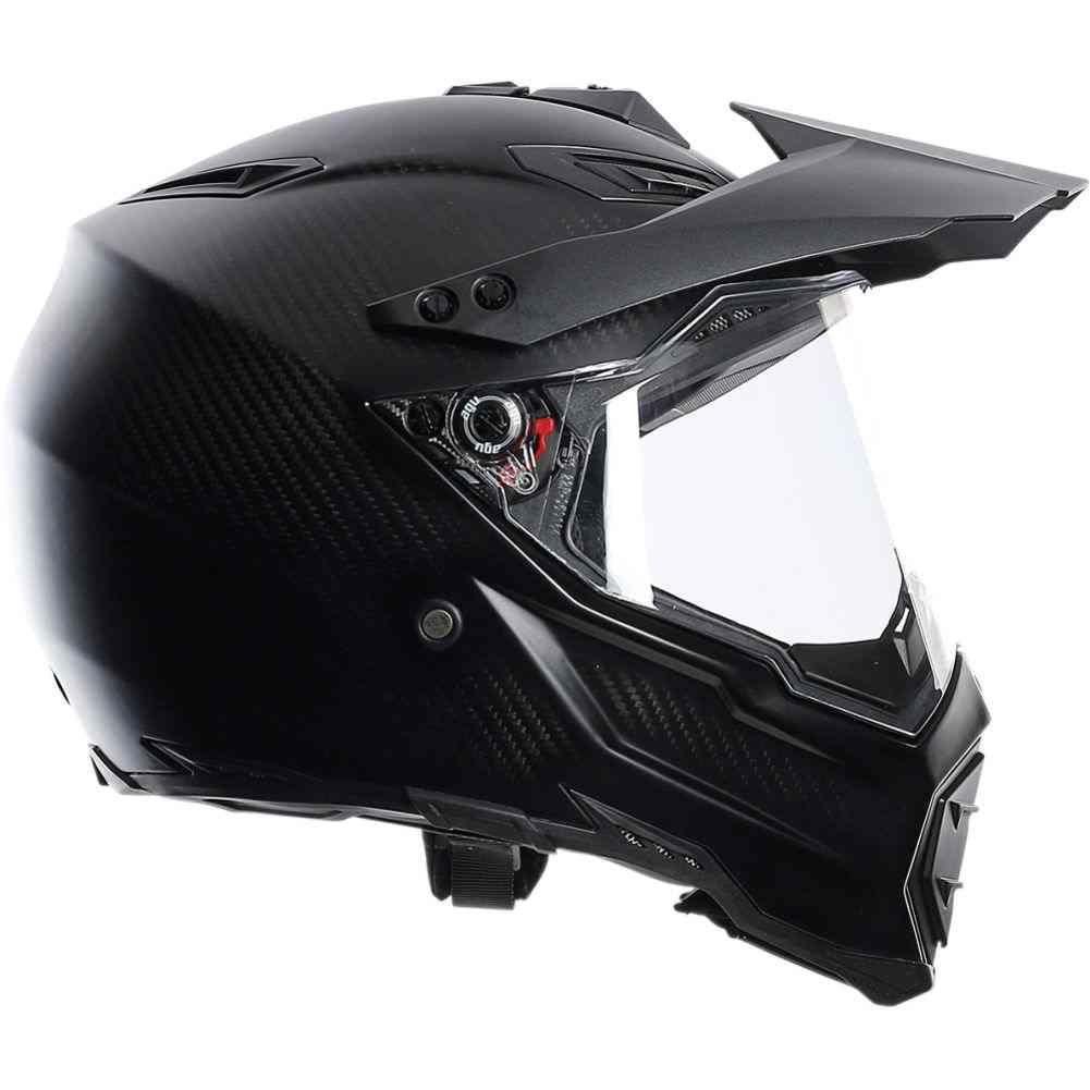 AGV AX8 Evo Matte Carbon Mens Dual Sport Helmets in 2020