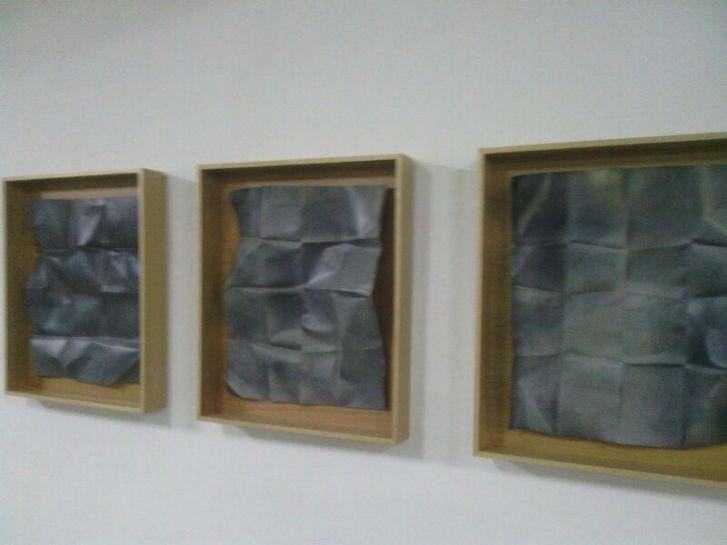 Fracturas @Galería Marisa Marimón - Ourense expo exposición Acisclo Novo pintura escultura