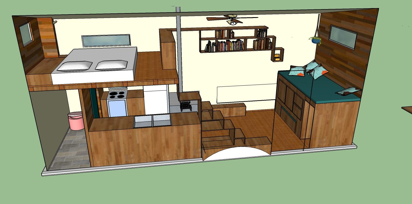 Tiny house designs 21 small and tiny house interior design for Mini house plans