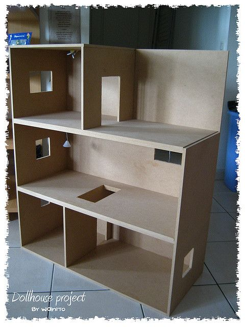 dollhouse project 3 diy projects to try pinterest. Black Bedroom Furniture Sets. Home Design Ideas