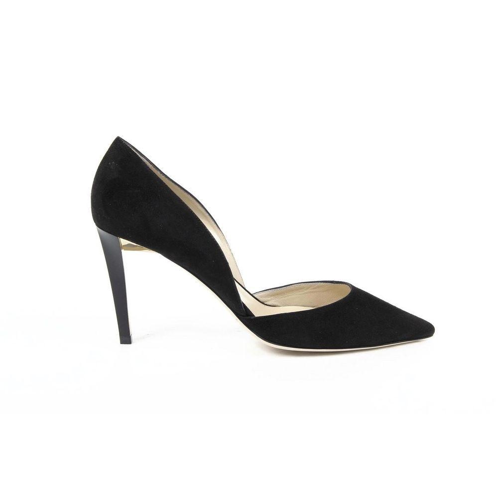 Jimmy Choo Women's Suede DARYLIN Stiletto Pumps BLACK #JimmyChoo  #PumpsClassics #SpecialOccasion