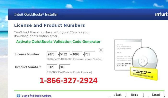 How To Get Validation Code For Quickbooks 2018