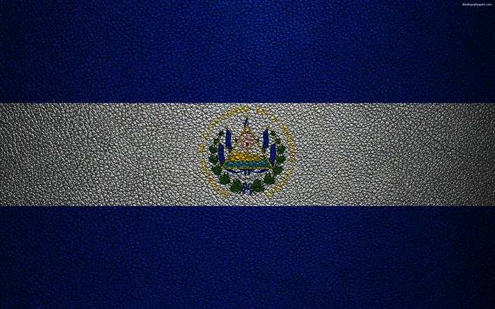 Download Wallpapers Flag Of El Salvador 4k Leather Texture North America Salvadoran Flag Flags Of The World El Salvador Besthqwallpapers Com Flags Of The World El Salvador Flag Leather Texture