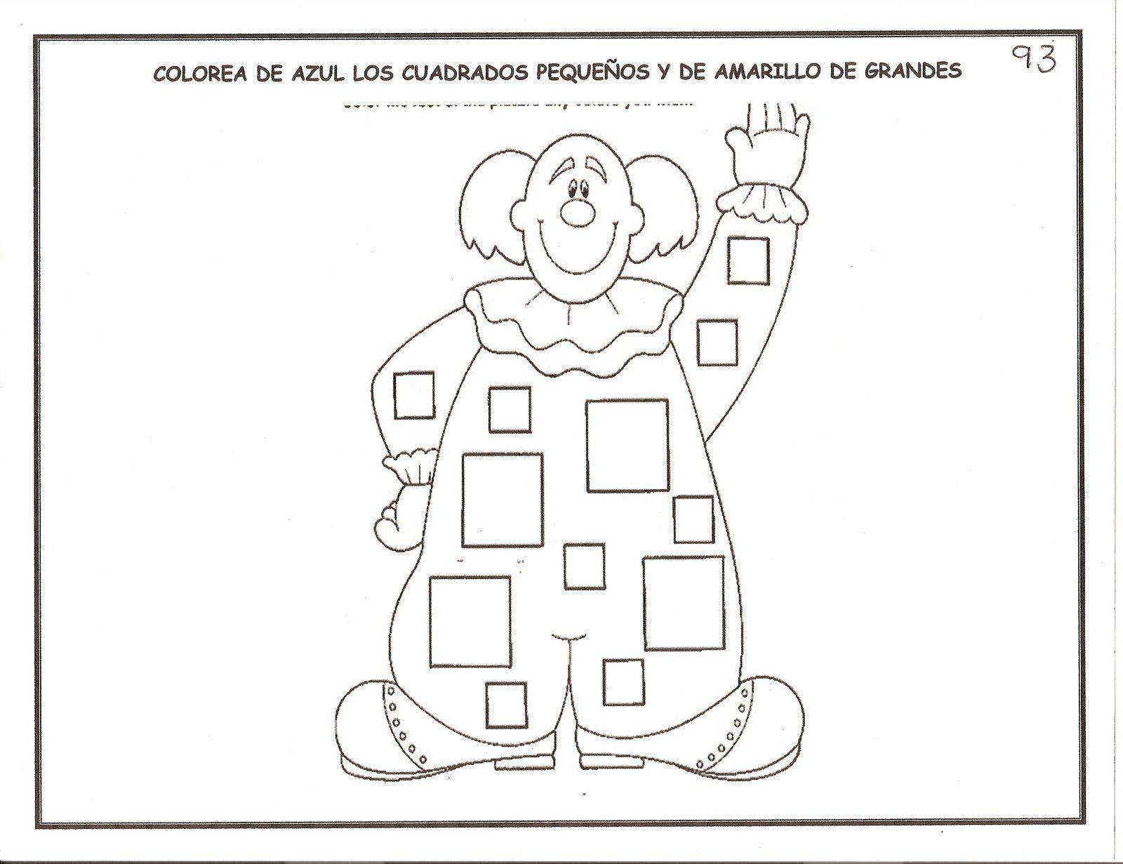 Recursos para el aula: Fichas para niños de 3-6 años Fichas ...