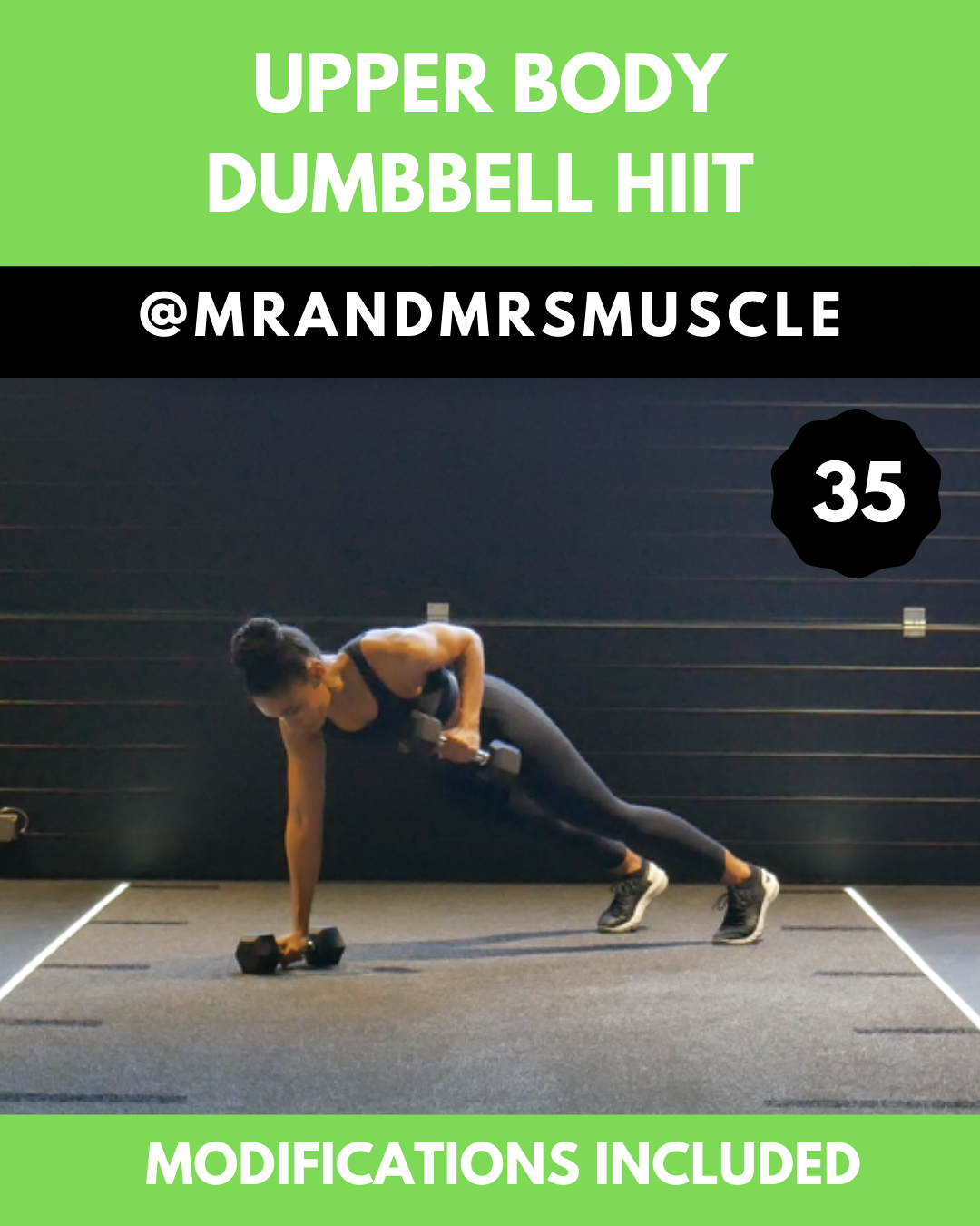 Upper Body Dumbbell HIIT Workout - MrandMrsMuscle - #Body #Dumbbell #fitness #HIIT #MrandMrsMuscle #...