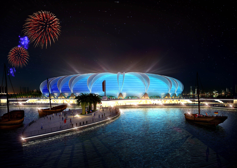 Doha Port Stadium Fifa 2022 World Cup Bid In Doha Bidding Nation Qatar 2022 Qatar S Plans For The 20 World Cup Stadiums 2022 Fifa World Cup World Cup 2022