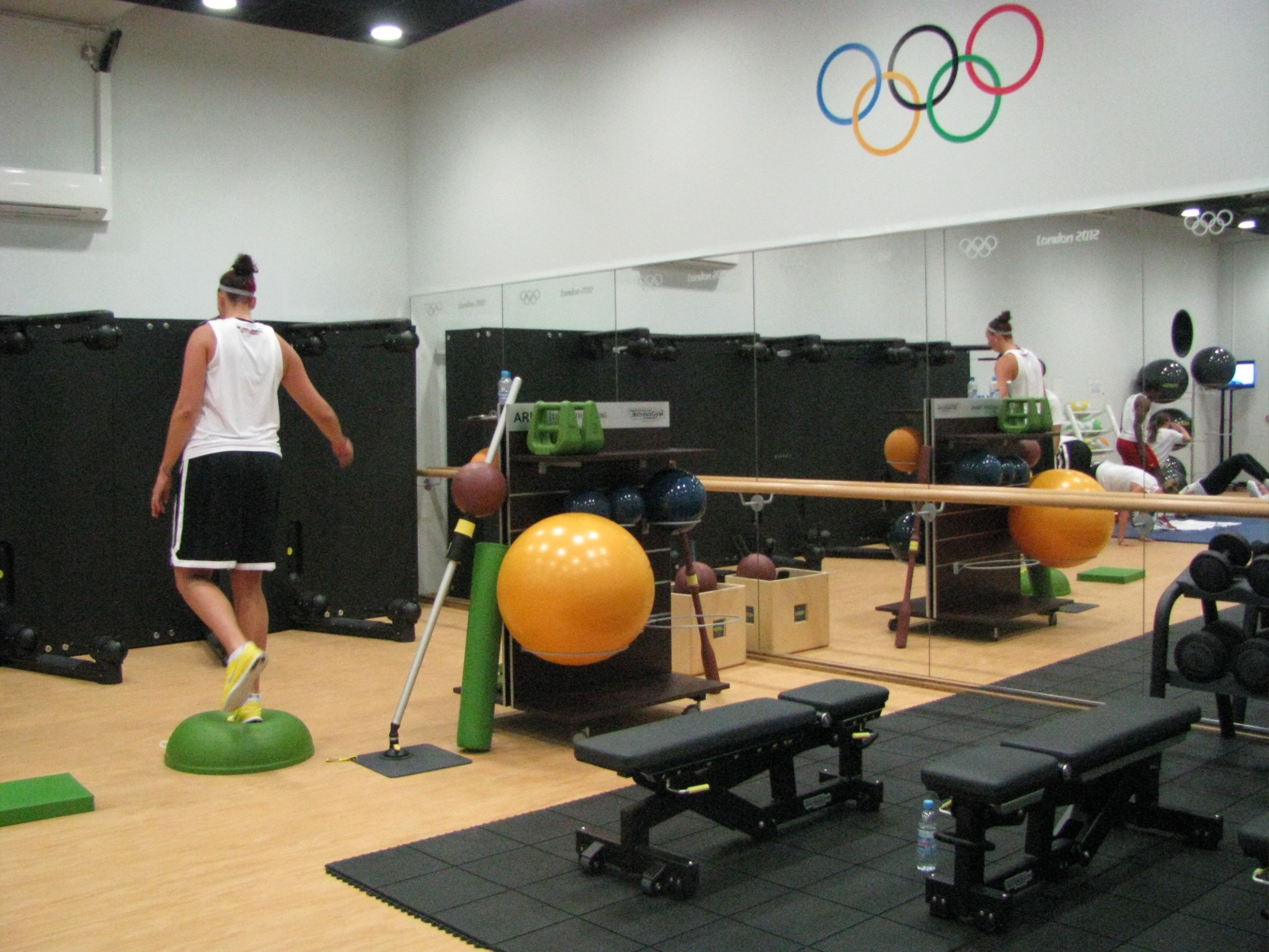 Functional Training At The Olympic Village Gym Functional