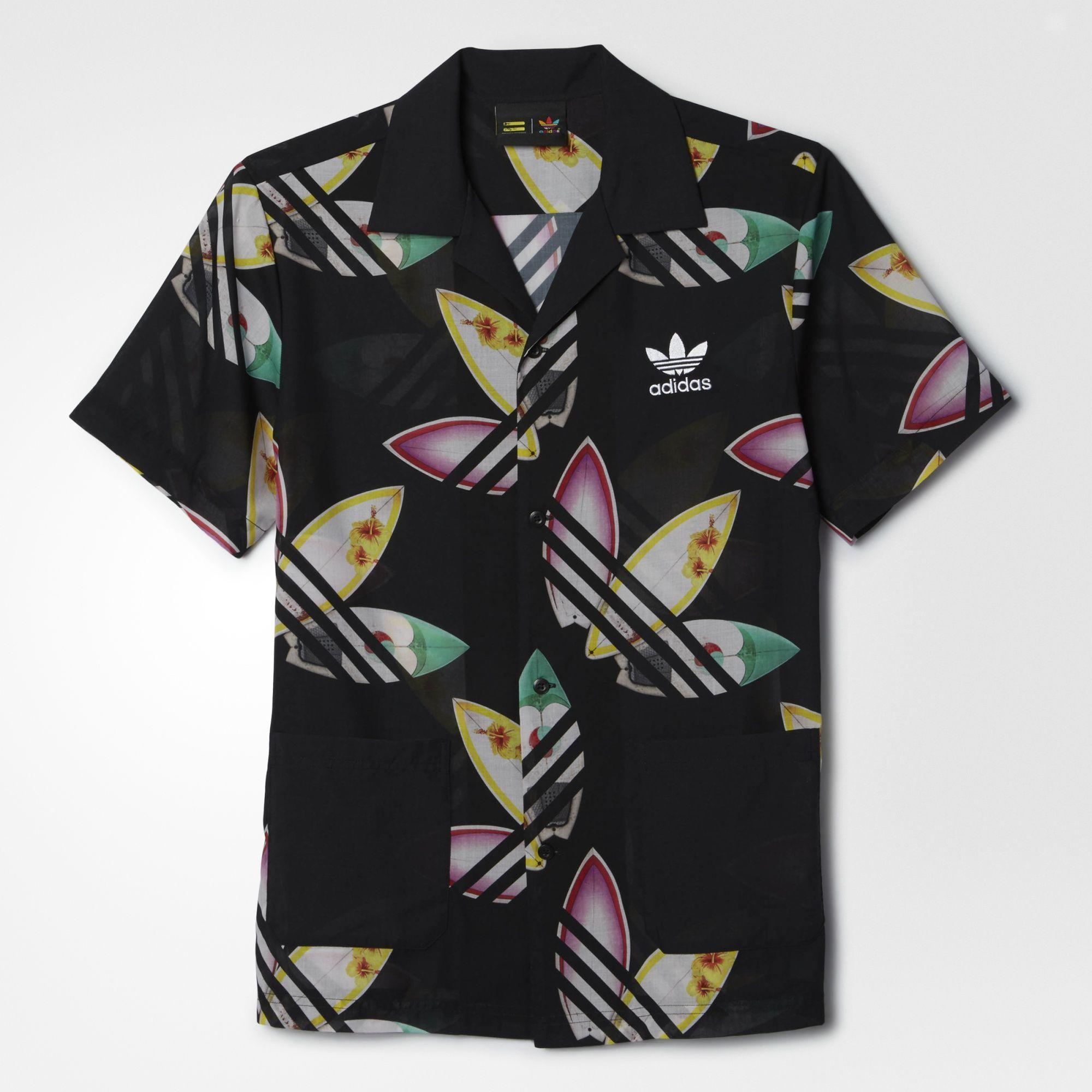 6d45e534bd adidas - Camisa Pharrell Williams Surf