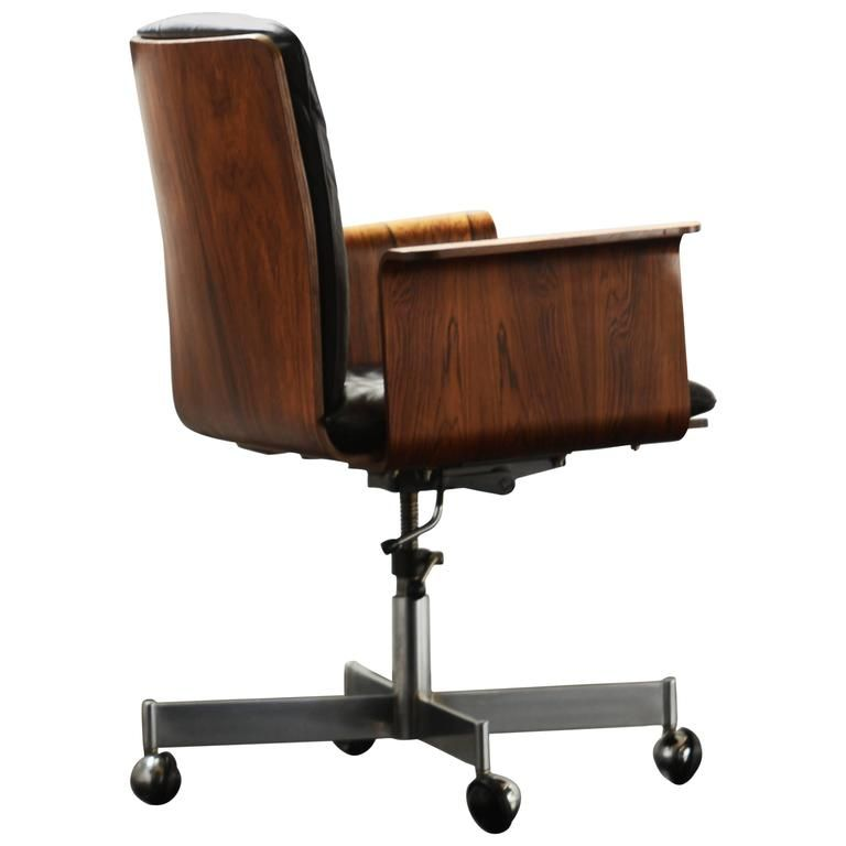 Schwarzer Leder Burostuhl Burostuhl Stuhle Schreibtisch Deko
