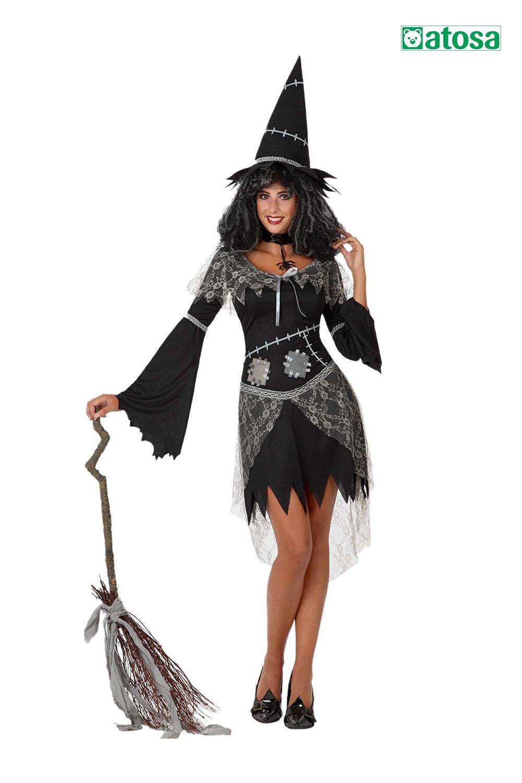 Disfraz de mujer bruja, witch, sorcière en 2020 Disfraz