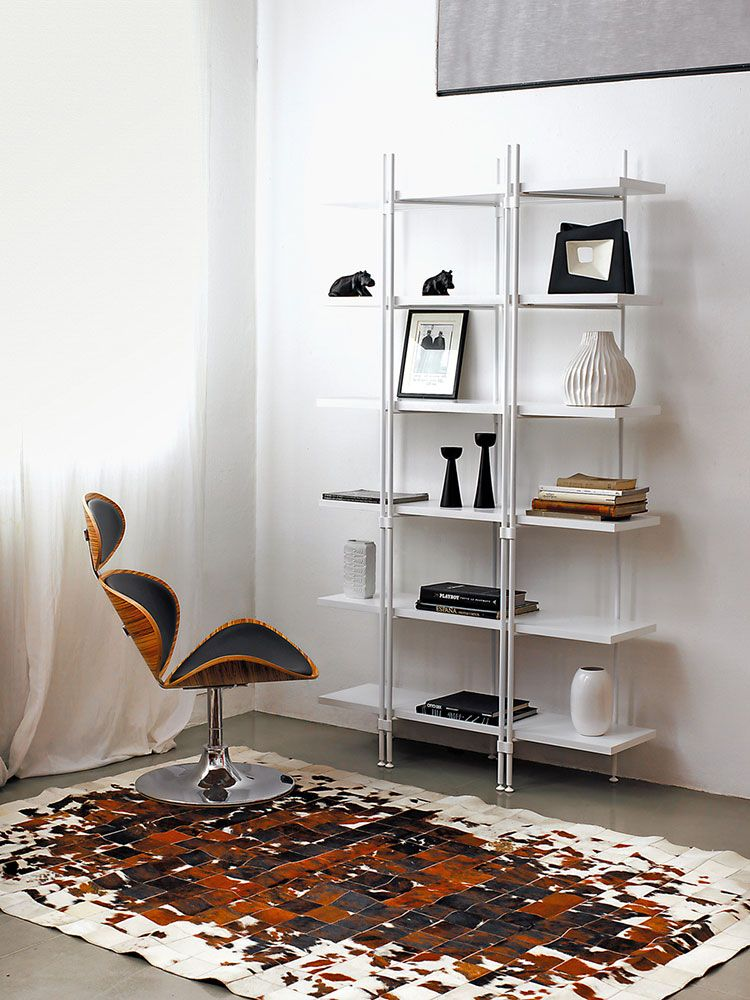 20 Piccole Librerie dal Design Moderno   Librerie   Librerie, Design ...