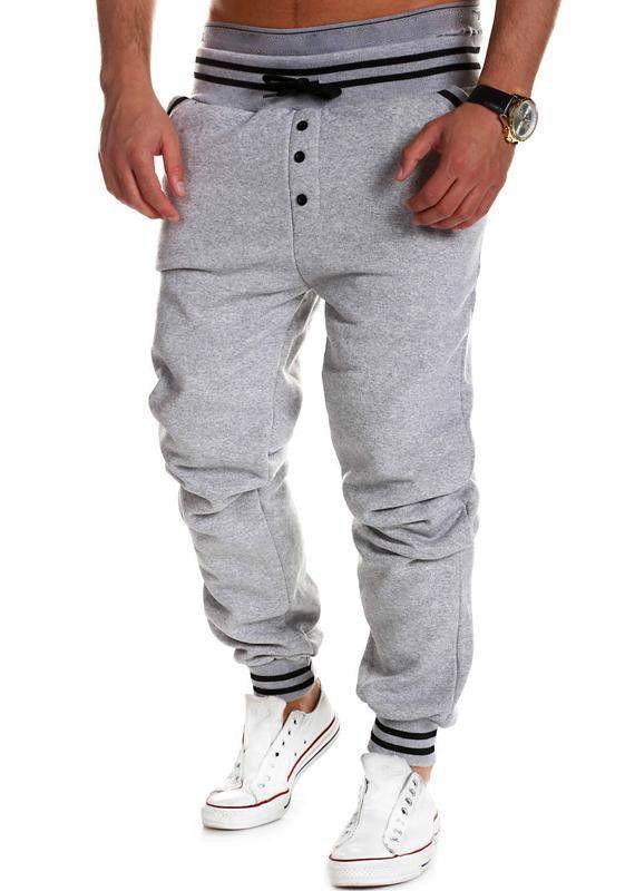 b71340920f Harem Pants New Style Fashion Casual Skinny Sweatpants Pants Trousers Drop  Crotch Leisure Pants Men Joggers Sarouel