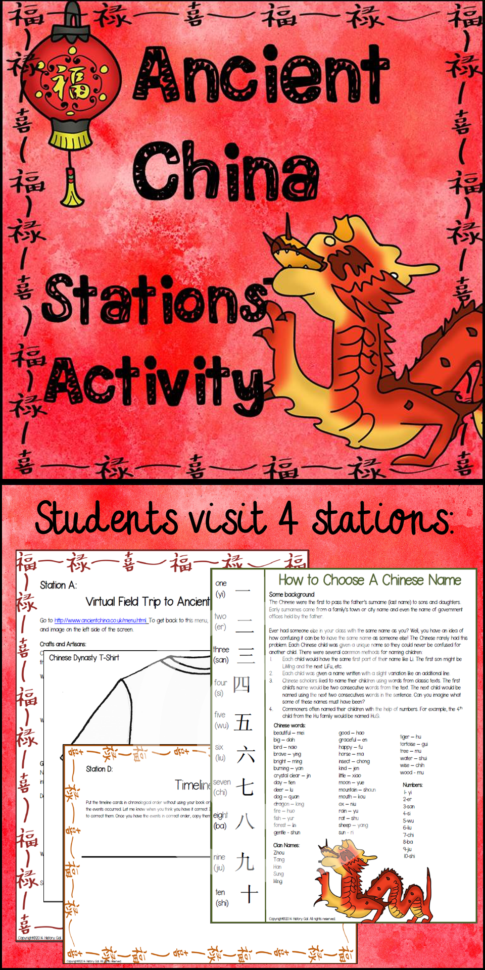small resolution of Supplement your lesson on Ancient China (Shang - Han Dynasties) with this  Ancient China Stations…   Ancient china lessons