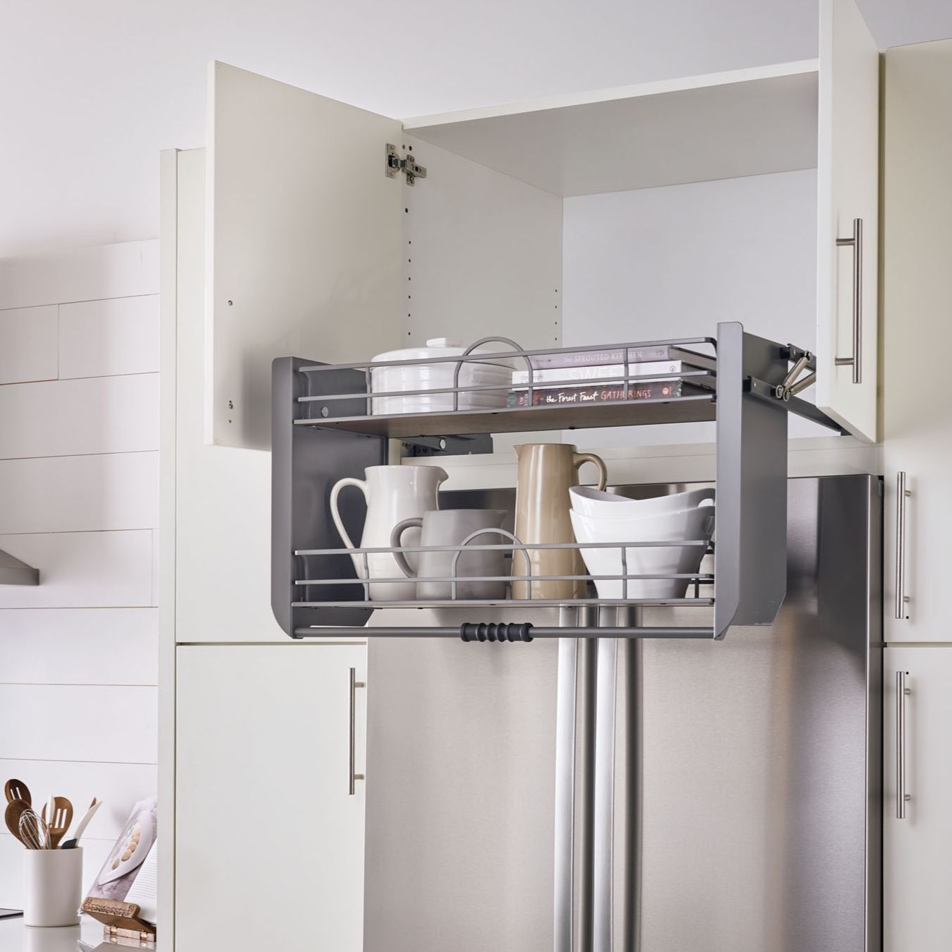 15 Kitchen Cabinet Organizers That Will Change Your Life Pull Down Shelf Rev A Shelf Cabinets Organization