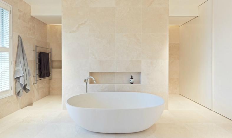 Shareen joel design melbourne interiors bath for Small bathroom design melbourne