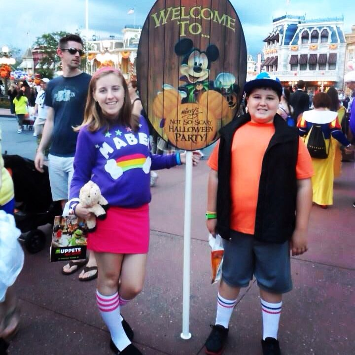 Disney Halloween Party Costume Ideas.Mabel And Dipper From Gravity Falls At Mickey S Not So Scary