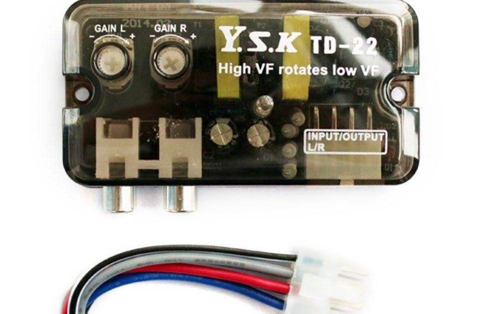 Discount !! 12V TD-22 Auto Car Audio Converter RCA Stereo High to