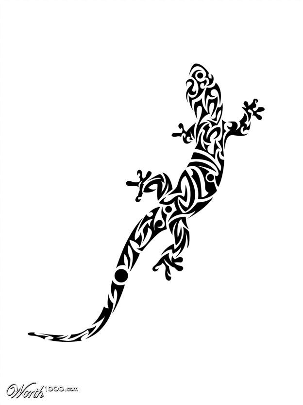 tribal gecko outside of my lower right leg tattoos pinterest geckos and legs. Black Bedroom Furniture Sets. Home Design Ideas